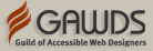 proud member of the Guild of Accessible Web Designers - external link