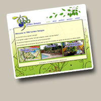 TBB Garden Designs website