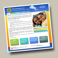 Strengthening Families Project website